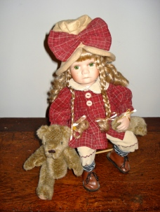 doll with bear