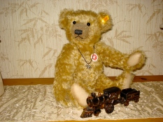 Steiff bear bought in NYC