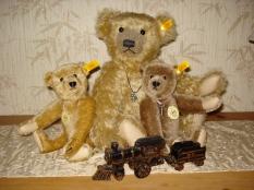 Steiff bears