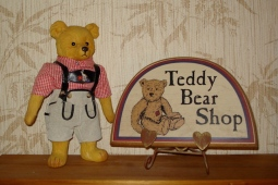 Teddy Bear Shop - bears NOT for sale