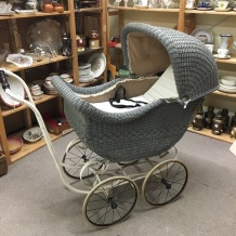 antique baby carriage