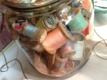 spools in a jar