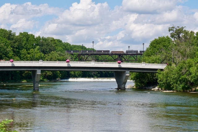 View of Grand River